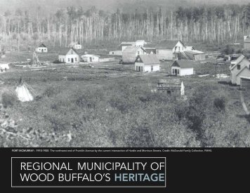2012 Heritage Calendar - Regional Municipality of Wood Buffalo
