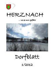 1. Ausgabe März - Gemeinde Herznach