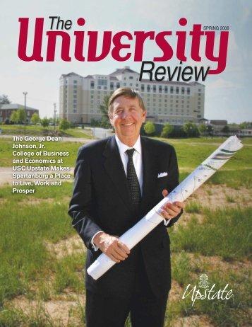 Spring 2008 PDF - University of South Carolina Upstate
