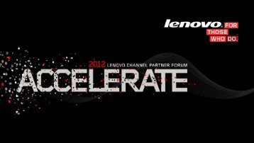 52% reduction in repair rate - Lenovo Partner Network