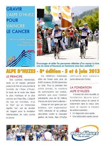 Téléchargez le PDF - Alpe d'Huez