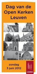 Dag van de Open Kerken Leuven