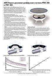 ABS Nopon дисковая диффузная система PRK 300 и PRF 300