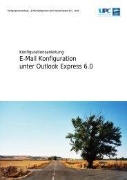 E-Mail Konfiguration unter Outlook Express 6.0 - inode.at
