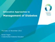 Management of Diabetes Presentation 1 - GP NSW