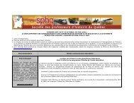 congrès 2007 de la sphq aperçu des ateliers communications au 2 ...