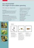 Leica DIGISYSTEMTM Find undergrundsinstallationer sikkert og ... - Page 7