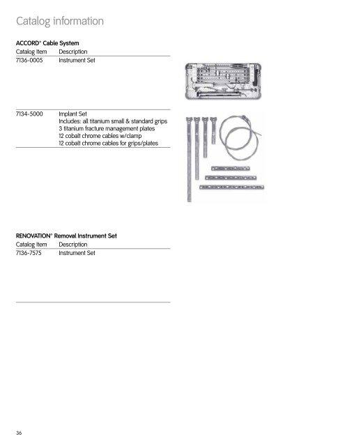 Catalog information ACCOR