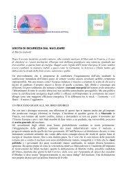 USCITA DI SICUREZZA DAL NUCLEARE - Iefe
