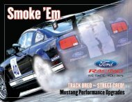 10398 Brochure.indd 1 1/9/08 2:47:51 PM - Ford Racing Parts