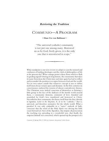 Download PDF - Communio