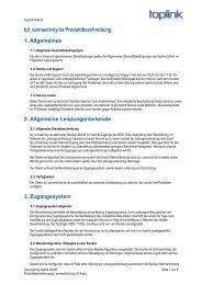 tpl_connectivity.ha Produktbeschreibung 1. Allgemeines 2 - Toplink