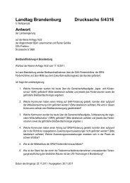Landtag Brandenburg Drucksache 5/4316