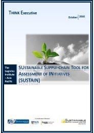 sustain - The Logistics Institute - National University of Singapore