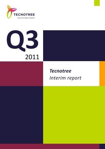 Tecnotree Interim Report Q3 2011
