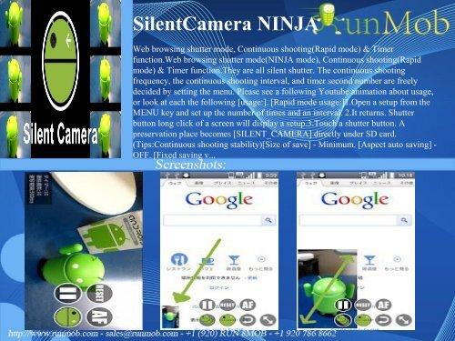 SilentCamera NINJA - RunMob