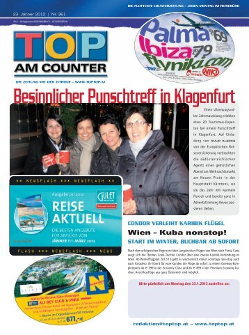 IM WINTER, BUCHBAR AB SOFORT - TOP AM COUNTER