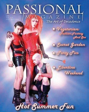 Hot Summer Fun - Passional Magazine