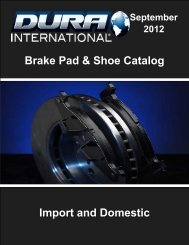 Brake Shoe For FORD BS705B MAZDA Based on Fitment Chart