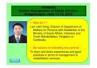 (Microsoft PowerPoint - LAO Veng Presentation ... - Hiseminars.org