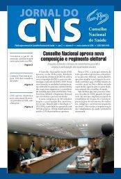 Maio - Conselho Nacional de Saúde - Ministério da Saúde
