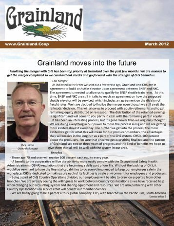 March 2012 Newsletter - AgriCharts