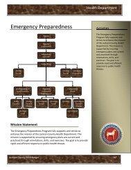 Emergency Preparedness - Jackson County, Michigan