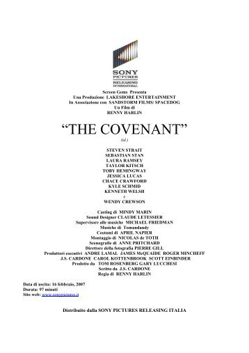 """""""THE COVENANT"""""""