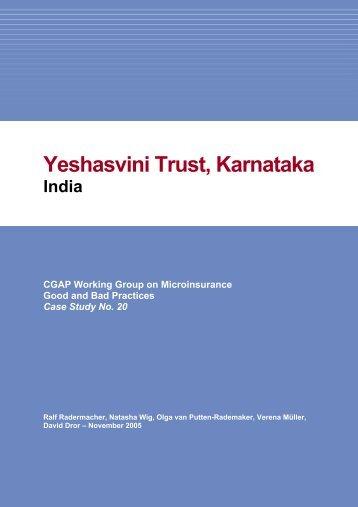 Yeshasvini Trust, Karnataka - ZEF