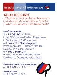AUSSTELLUNG - DIE LINKE. Dr. Gerd-Rüdiger Hoffmann