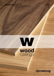the Wood brochure - ARMSTRONG - Atelier