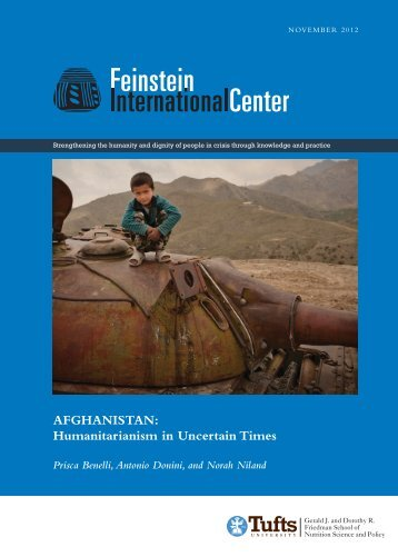 Download the report, (PDF 2.94) - Tufts - Tufts University