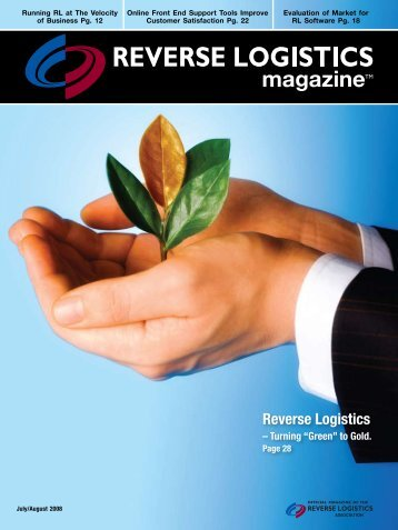 "Reverse Logistics - Turning ""Green"" to Gold."