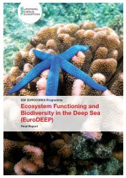 EuroDEEP - European Science Foundation