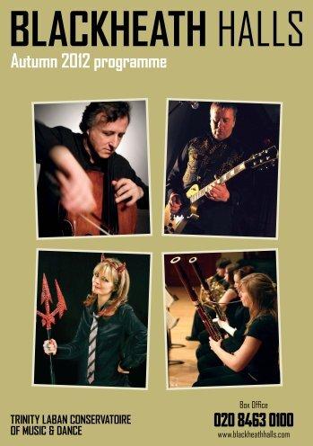 Autumn 2012 programme - Laban
