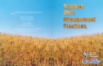 Nutrient Best Management Practices - Delaware Department of ...