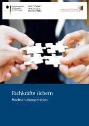 Hochschulkooperation - Kompetenzzentrum Fachkräftesicherung
