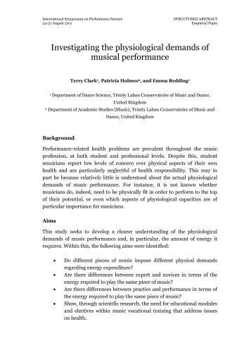 physiological demands Rugby is one of the most intriguing sports to analyse from a physiological perspective because it has such a variety of demands and each match is unique.