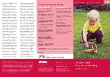 Toddlers and very early learning - Iron Acton Primary School