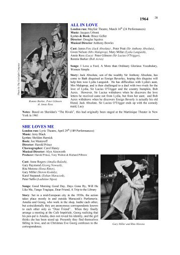 London musicals 1960-1964.pub - Over The Footlights