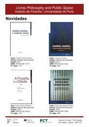 Livros PPS_1.pdf - Instituto de Filosofia - Universidade do Porto