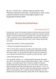 Kolanjioskopi - Prof. Dr. Sadettin Hülagü