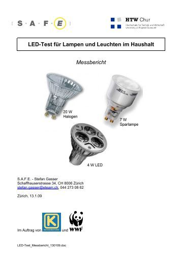 Led Lampen: Test Ikea Led Lampen