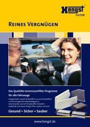 Reines Vergnügen_D - Hengst GmbH & Co. KG