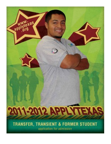 ApplyTexas Application - Texas Southern University: ::em.tsu.edu