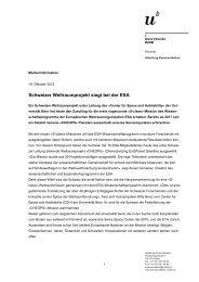 Schweizer Weltraumprojekt siegt bei der ESA - Wirtschaftsraum Bern