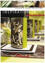 Mank Katalog Inspiration 2010 - Tischvielfalt