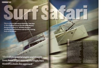 Yachting World February 2005 - Gunboat