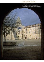 le guide de visite - Abbaye aux Dames