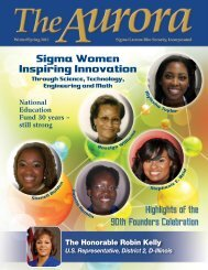 Sigma Women Inspiring Innovation - Amazon Web Services